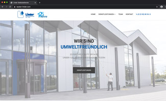 Website Linder Gebäudedienste