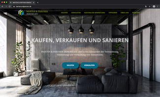 Website Merten und Partner